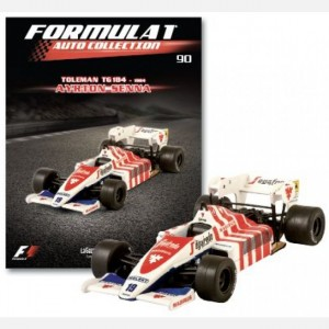 Formula 1 Auto Collection Toleman TG 184 (1984)