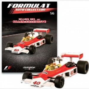 Formula 1 - Auto Collection Gilles Villeneuve - McLaren m23