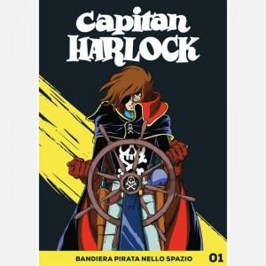 Capitan Harlock Bandiera pirata nello spazio