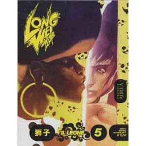 Long Wei - N° 5 - Il Leone Corre Sulla Foglia Di Loto - Editoriale Aurea