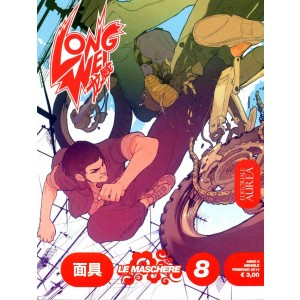 Long Wei - N° 8 - Le Maschere - Editoriale Aurea