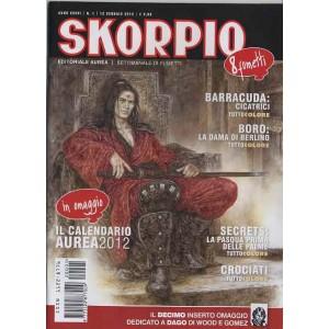 Skorpio Anno 36 - N° 1 - Skorpio 2012 1 - Skorpio Editoriale Aurea