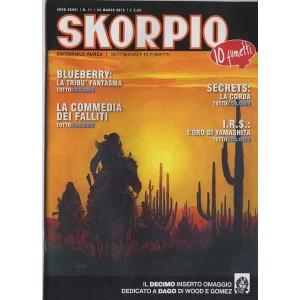 Skorpio Anno 36 - N° 11 - Skorpio 2012 11 - Skorpio Editoriale Aurea