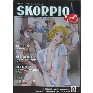 Skorpio Anno 36 - N° 12 - Skorpio 2012 12 - Skorpio Editoriale Aurea