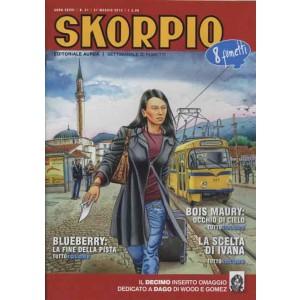 Skorpio Anno 36 - N° 21 - Skorpio 2012 21 - Skorpio Editoriale Aurea