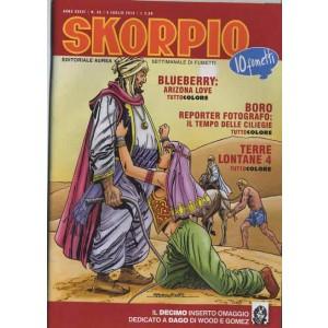 Skorpio Anno 36 - N° 26 - Skorpio 2012 26 - Skorpio Editoriale Aurea