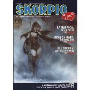 Skorpio Anno 36 - N° 37 - Skorpio 2012 37 - Skorpio Editoriale Aurea