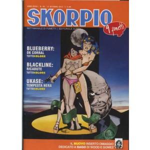Skorpio Anno 36 - N° 40 - Skorpio 2012 40 - Skorpio Editoriale Aurea