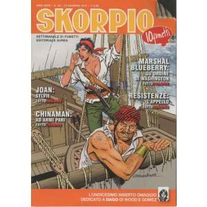 Skorpio Anno 36 - N° 49 - Skorpio 2012 49 - Skorpio Editoriale Aurea