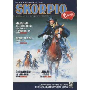 Skorpio Anno 36 - N° 50 - Skorpio 2012 50 - Skorpio Editoriale Aurea