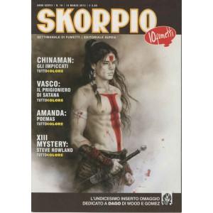 Skorpio Anno 37 - N° 10 - Skorpio 2013 10 - Skorpio Editoriale Aurea