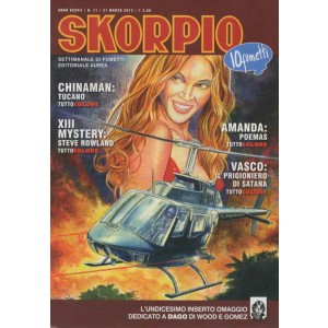 Skorpio Anno 37 - N° 11 - Skorpio 2013 11 - Skorpio Editoriale Aurea
