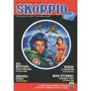 Skorpio Anno 37 - N° 13 - Skorpio 2013 13 - Skorpio Editoriale Aurea