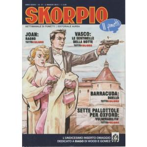 Skorpio Anno 37 - N° 17 - Skorpio 2013 17 - Skorpio Editoriale Aurea
