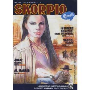 Skorpio Anno 37 - N° 21 - Skorpio 2013 21 - Skorpio Editoriale Aurea