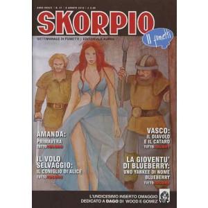 Skorpio Anno 37 - N° 31 - Skorpio 2013 31 - Skorpio Editoriale Aurea