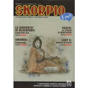 Skorpio Anno 37 - N° 33 - Skorpio 2013 33 - Skorpio Editoriale Aurea
