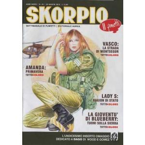 Skorpio Anno 37 - N° 34 - Skorpio 2013 34 - Skorpio Editoriale Aurea