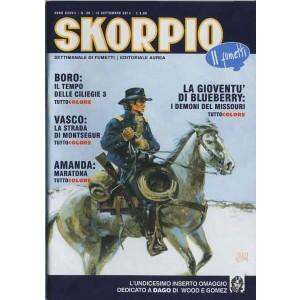 Skorpio Anno 37 - N° 36 - Skorpio 2013 36 - Skorpio Editoriale Aurea