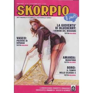 Skorpio Anno 37 - N° 37 - Skorpio 2013 37 - Skorpio Editoriale Aurea