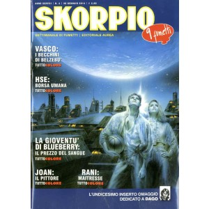 Skorpio Anno 38 - N° 4 - Skorpio 2014 4 - Skorpio Editoriale Aurea