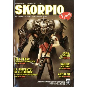 Skorpio Anno 38 - N° 8 - Skorpio 2014 8 - Skorpio Editoriale Aurea