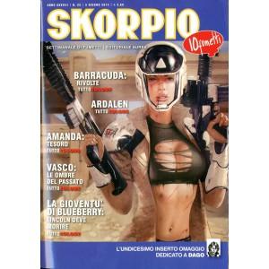 Skorpio Anno 38 - N° 22 - Skorpio 2014 22 - Skorpio Editoriale Aurea