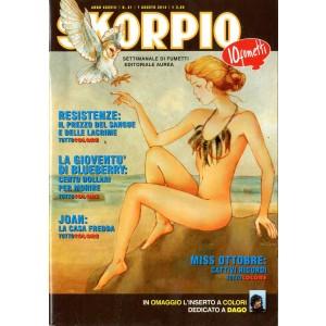 Skorpio Anno 38 - N° 31 - Skorpio 2014 31 - Skorpio Editoriale Aurea