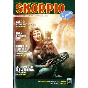 Skorpio Anno 38 - N° 37 - Skorpio 2014 37 - Skorpio Editoriale Aurea