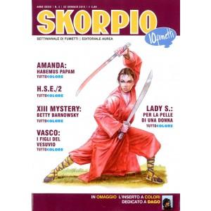 Skorpio Anno 39 - N° 3 - Skorpio 2015 3 - Skorpio Editoriale Aurea
