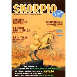 Skorpio Anno 39 - N° 7 - Skorpio 2015 7 - Skorpio Editoriale Aurea