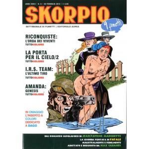 Skorpio Anno 39 - N° 8 - Skorpio 2015 8 - Skorpio Editoriale Aurea