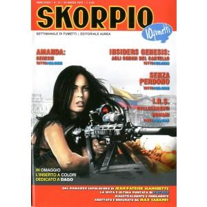 Skorpio Anno 39 - N° 12 - Skorpio 2015 12 - Skorpio Editoriale Aurea
