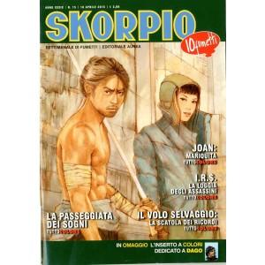 Skorpio Anno 39 - N° 15 - Skorpio 2015 15 - Skorpio Editoriale Aurea