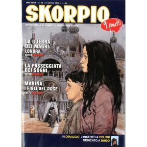 Skorpio Anno 39 - N° 16 - Skorpio 2015 16 - Skorpio Editoriale Aurea