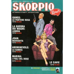 Skorpio Anno 39 - N° 18 - Skorpio 2015 18 - Skorpio Editoriale Aurea