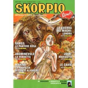 Skorpio Anno 39 - N° 19 - Skorpio 2015 19 - Skorpio Editoriale Aurea