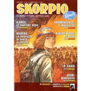 Skorpio Anno 39 - N° 20 - Skorpio 2015 20 - Skorpio Editoriale Aurea