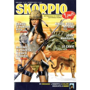Skorpio Anno 39 - N° 21 - Skorpio 2015 21 - Skorpio Editoriale Aurea