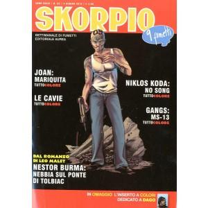 Skorpio Anno 39 - N° 22 - Skorpio 2015 22 - Skorpio Editoriale Aurea
