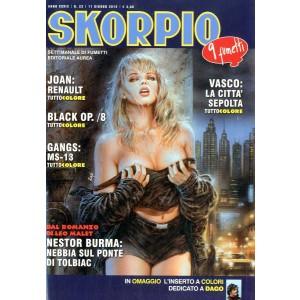Skorpio Anno 39 - N° 23 - Skorpio 2015 23 - Skorpio Editoriale Aurea
