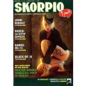 Skorpio Anno 39 - N° 24 - Skorpio 2015 24 - Skorpio Editoriale Aurea