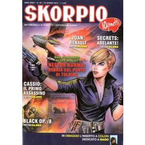 Skorpio Anno 39 - N° 25 - Skorpio 2015 25 - Skorpio Editoriale Aurea