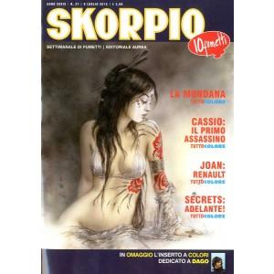 Skorpio Anno 39 - N° 27 - Skorpio 2015 27 - Skorpio Editoriale Aurea