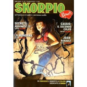 Skorpio Anno 39 - N° 28 - Skorpio 2015 28 - Skorpio Editoriale Aurea