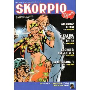 Skorpio Anno 39 - N° 30 - Skorpio 2015 30 - Skorpio Editoriale Aurea