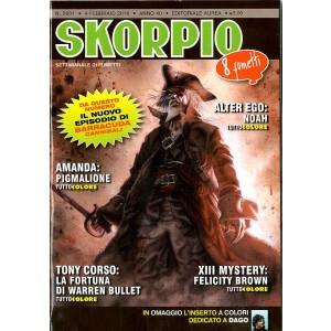 Skorpio Anno 40 In Poi - N° 2031 - Skorpio - Skorpio Editoriale Aurea
