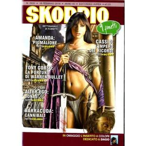 Skorpio Anno 40 In Poi - N° 2033 - Skorpio - Skorpio Editoriale Aurea