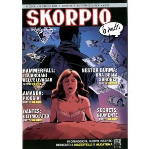 Skorpio Anno 40 In Poi - N° 2049 - Skorpio - Skorpio Editoriale Aurea