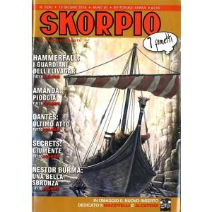 Skorpio Anno 40 In Poi - N° 2050 - Skorpio - Skorpio Editoriale Aurea